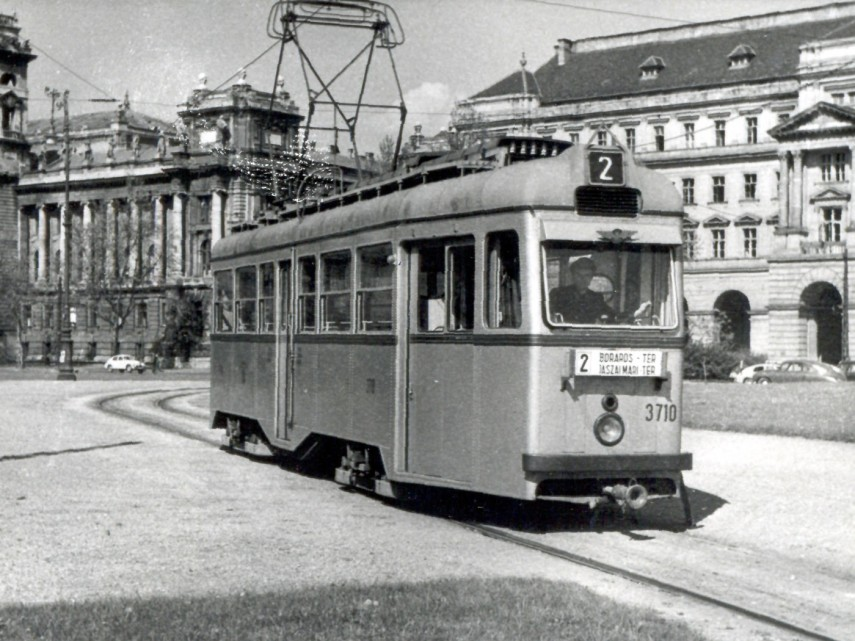 1958 táján, Kossuth Lajos tér, 5. kerület