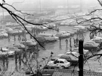 1975, Röppentyű utca, a használt autó piac, 13. kerület