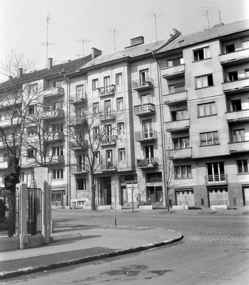 1968, Böszörményi út és a Gaál utca kereszteződés, 12. kerület