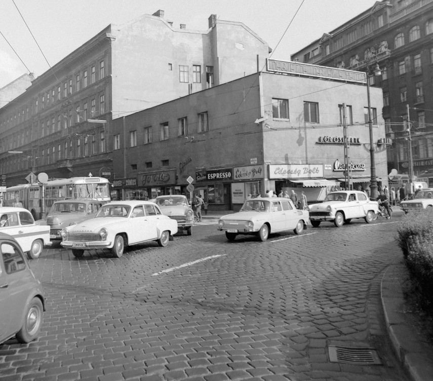 1971, Calvin (Kálvin) tér, 8. kerület