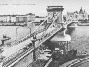 1906-1907, Lánchíd tér és a Lánchíd, 1. kerület