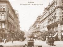 1900-as évek eleje, Kossuth Lajos utca, 4. (1950-től 5.) kerület