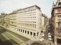 1960-as évek Rákóczi út és az Osváth utca sarok,7. kerület