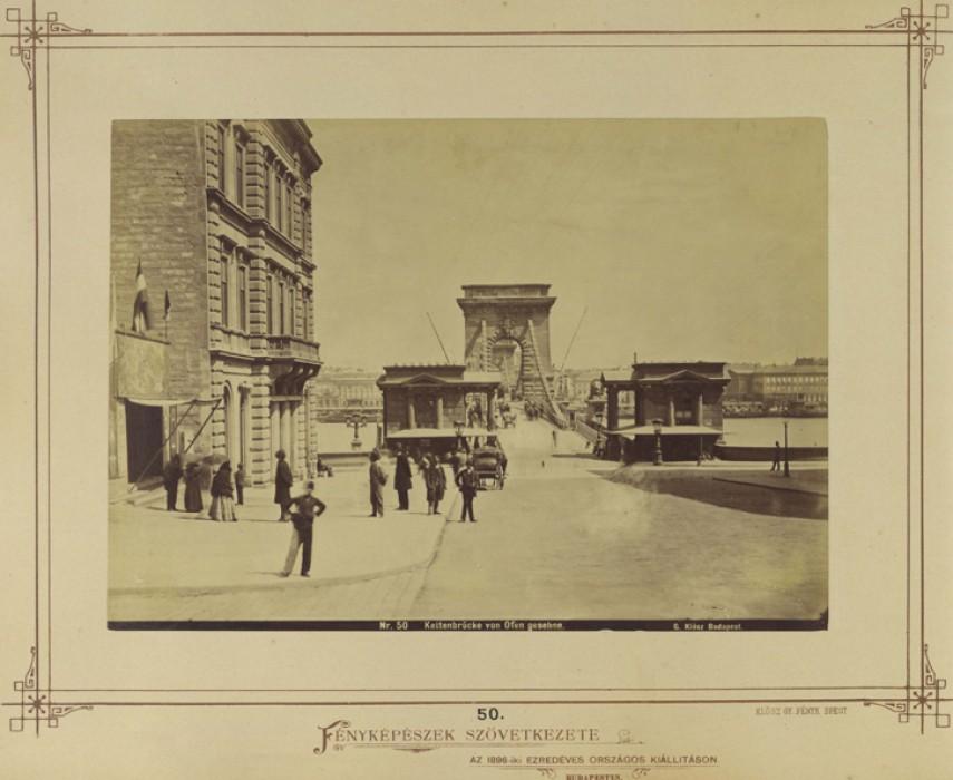 1890, Lánchíd (Clark Ádám)  tér, 1. kerület