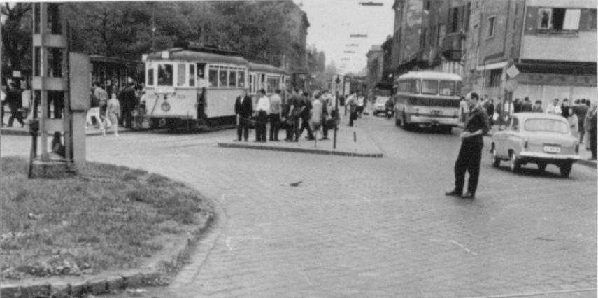 1965, Kőbánya, Zalka Máté (Liget) tér, 10. kerület