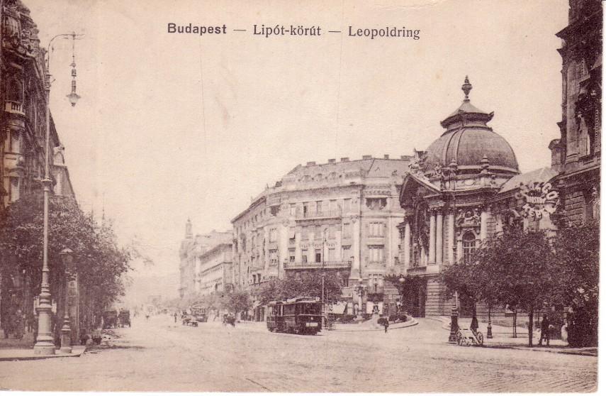 1917, Lipót (Szent István) körút, 13. kerület