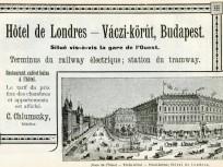 1890 táján, Váci körút, 6. kerület