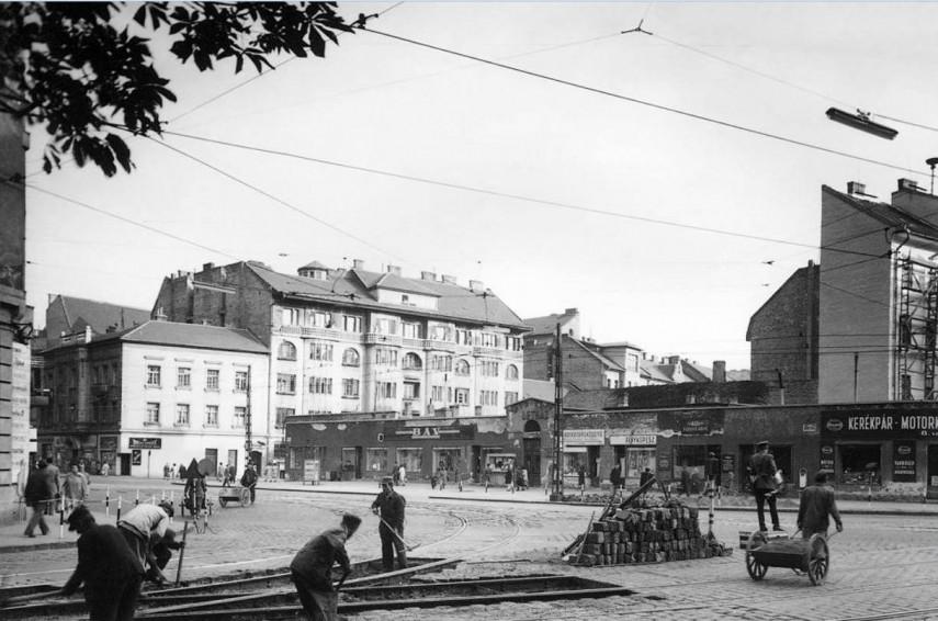 1950-es évek vége, Mártírok útja (Margit körút), 2. kerület