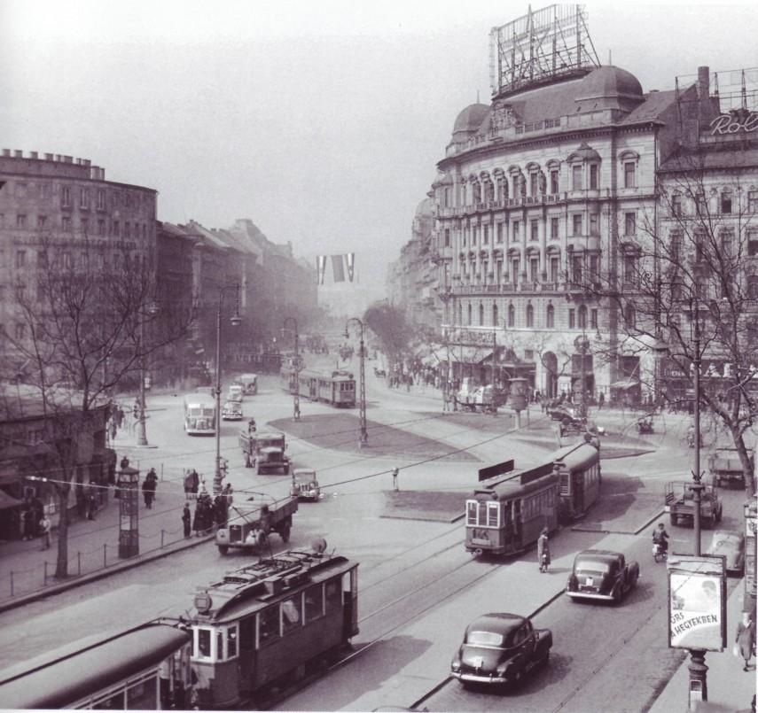 1952, a Marx tér és környéke , 5., a 6. és a 13. kerület
