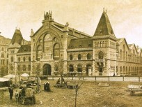 1897, Ferencváros, Fővám tér, 9. kerület, Nagyvásárcsarnok