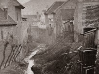 1870 táján, az Ördögárok, 1. kerület