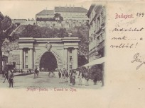 1899, Lánchíd (Clark Ádám) tér, 1. kerület