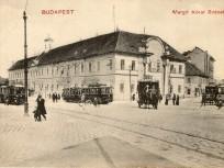1900 táján, Széna tér a Margit körútnál, 2. kerület