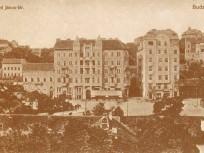 1910 táján, Szent János tér (Krisztina körút), 1. kerület