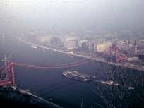 Erzsébet híd(-ak) és környékeik, Erzsébet híd 1963, 1. kerület