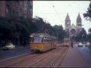 1970-es évek közepe táján, Váci út, 6. és 13. kerület