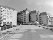 1960, Várfok utca a Vérmező utcánál, 12. és 1. kerület