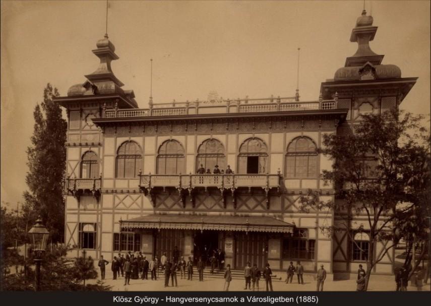 Hősök tere és környéke, Városliget 1895, 14. kerület