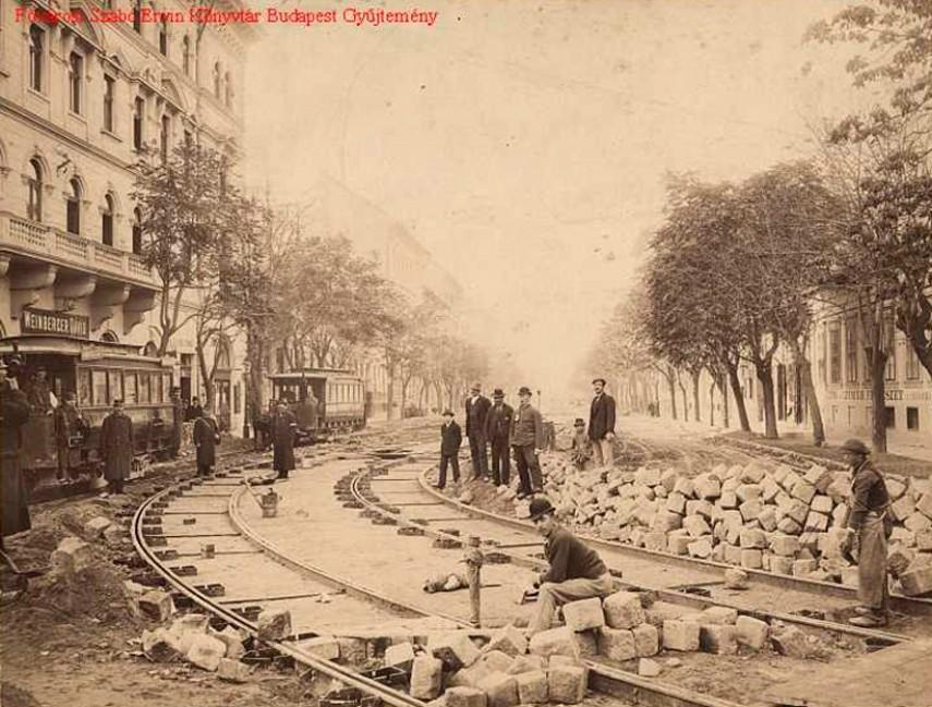 1800-as évek vége, Damjanich utca, 7. kerület