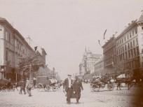 1895 táján Váci körút ( Bajcsy-Zsilinszky út), 6. és 5. kerület