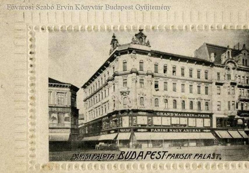 1900 táján, Kerepesi (Rákóczi) út, 7. kerület
