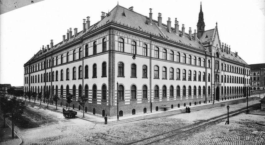 1903, Zsigmond utca (Frankel Leó út) az Üstökös utcánál, 2. kerület