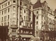 1910 táján, Fővám tér, 5. kerület