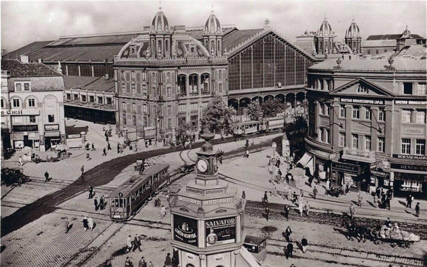 1920-as évek, Berlini (Nyugati) tér