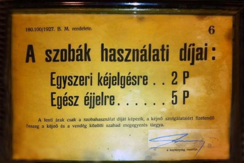 1927, árfolyam...