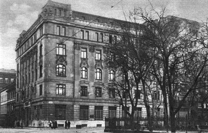 1928, Erzsébet tér, 4.-1950-től- 5. kerület