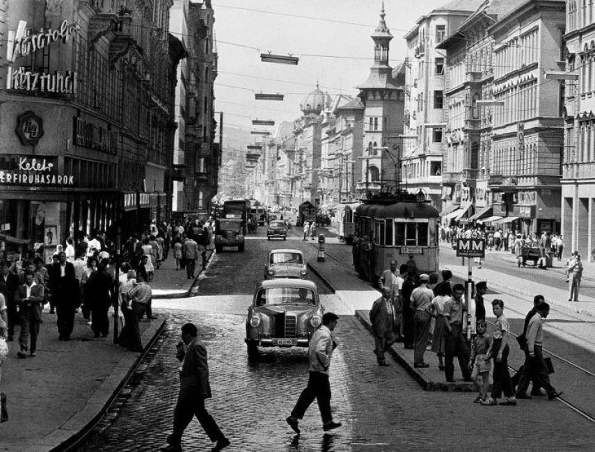 1959, Rákóczi út, 8. és 7. kerület