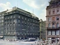 1959, Tanács (Károly) körút a Kossuth Lajos utcánál, 5. kerület