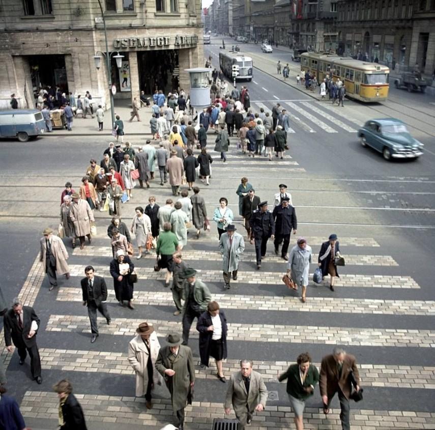 1960-as évek, Rákóczi út a Nagykörútnál, 8. és 7. kerület