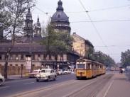 1963, Bajcsy-Zsilinszky út a József Attila utcánál, 5. és 6. kerület