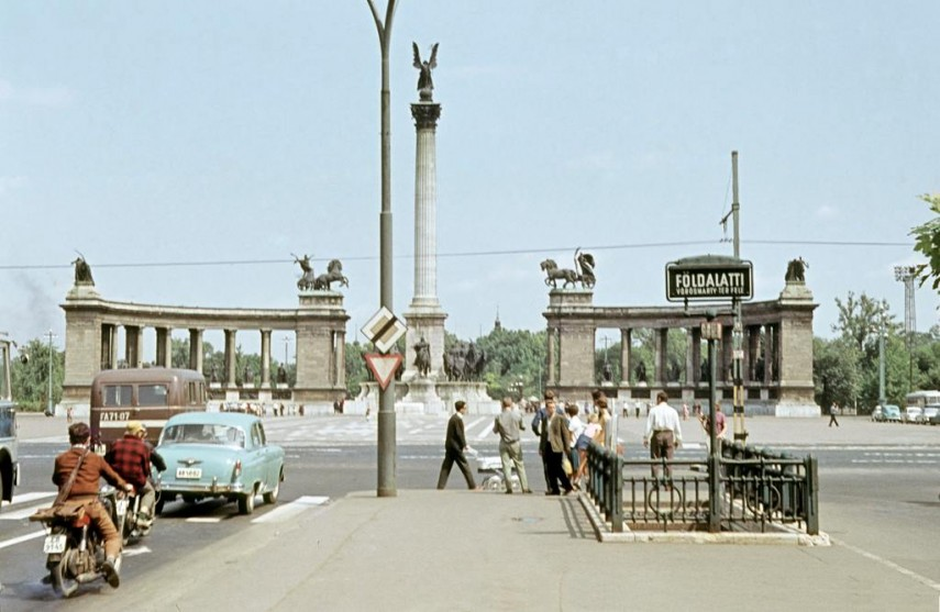 1965, Népköztársaság útja (Andrássy út), 6. és 14.kerület