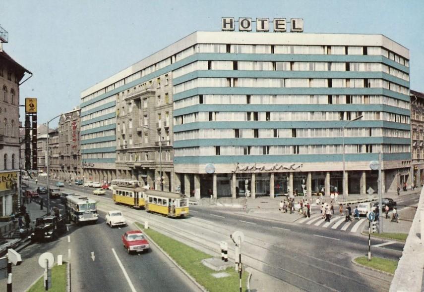 1969 táján, Rákóczi út, 7. kerület