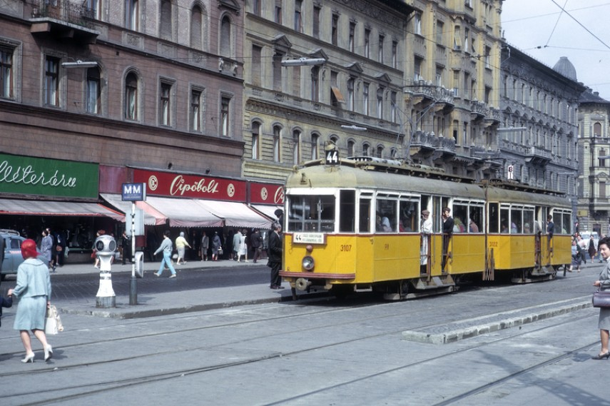 1964, Baross tér, 7. kerület