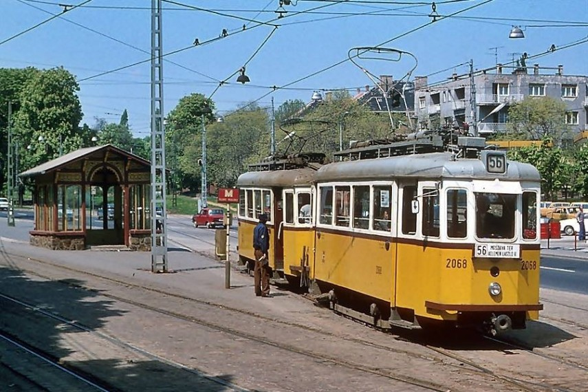 1979, Szilágyi Erzsébet fasor a Házmán utcánál,