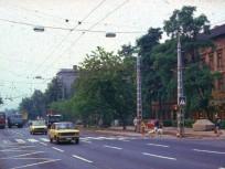 1980-as évek táján, Hungária körút a Ciprus utcánál, 8. kerület