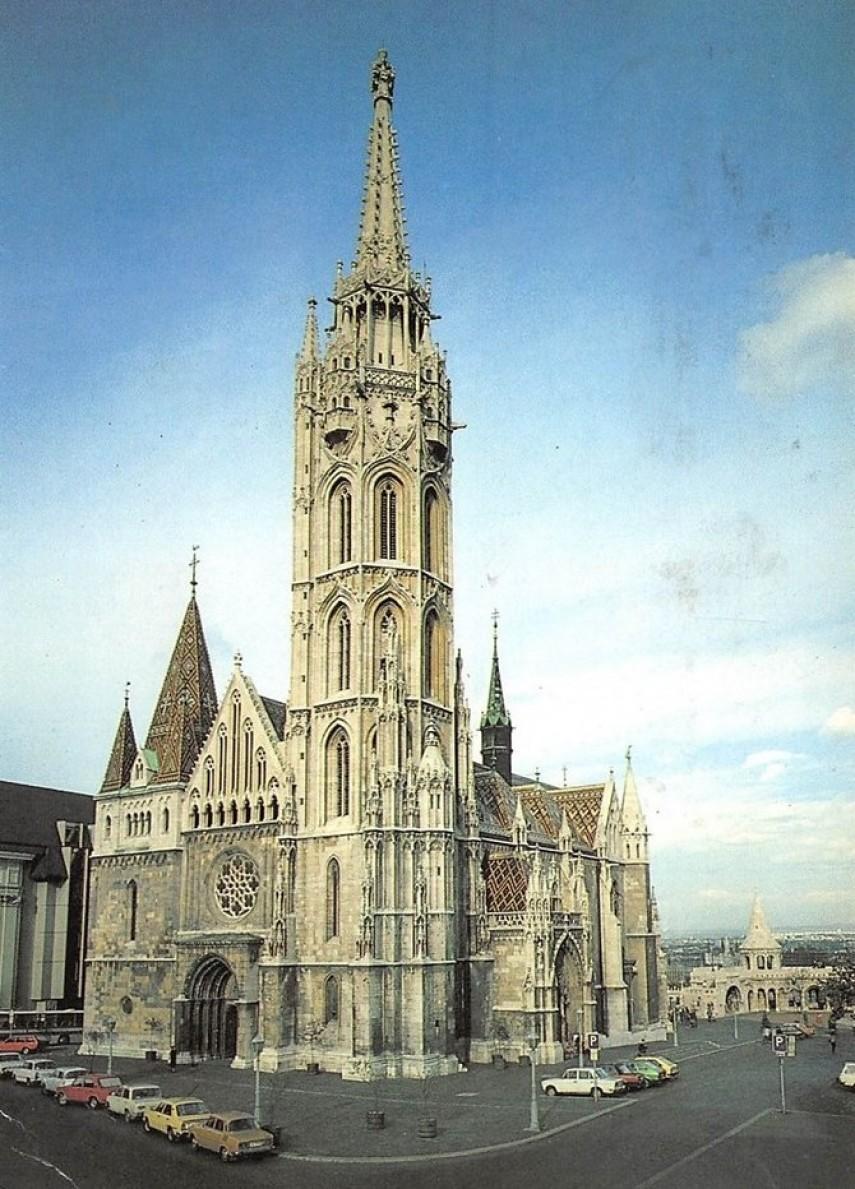 1983, Szentháromság tér, a Mátyás-templom