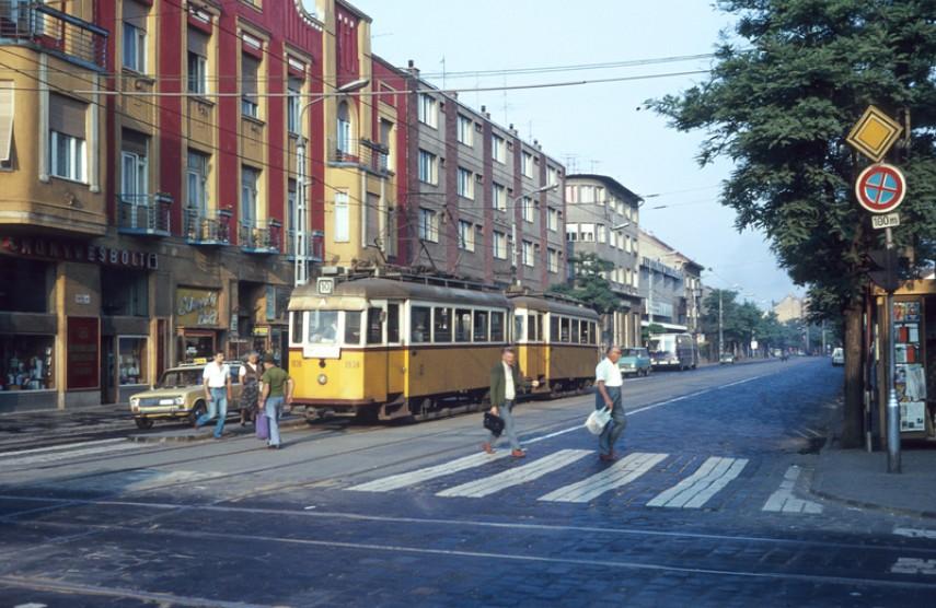 1980-as évek, Árpád út, 4. kerület