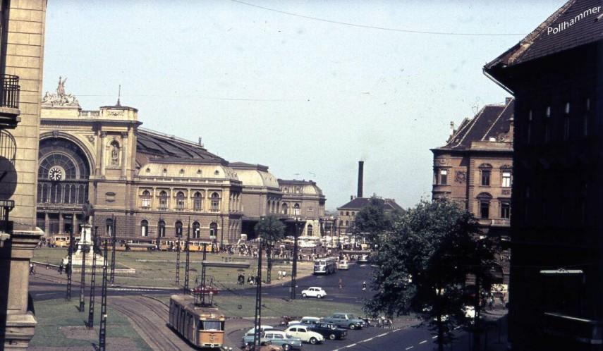 1960-as évek vége felé, Baross tér, 8. kerület