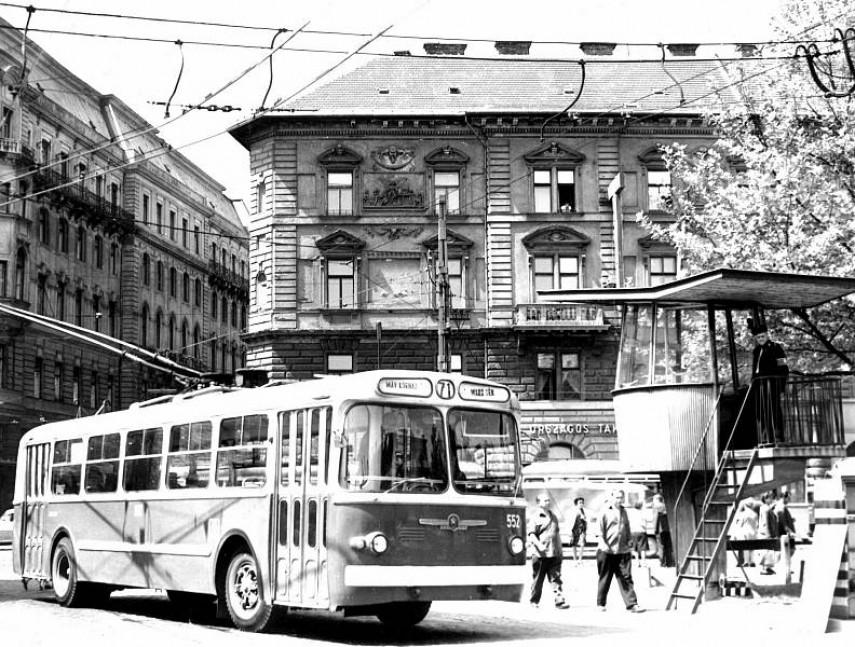 1970-es évek eleje, Marx tér (Nyugati tér), 6. kerület