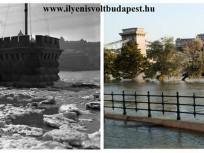 1940 és 2013, Pesti alsó (Id. Antall József) rakpart, 4. (1950-től) 5. kerület