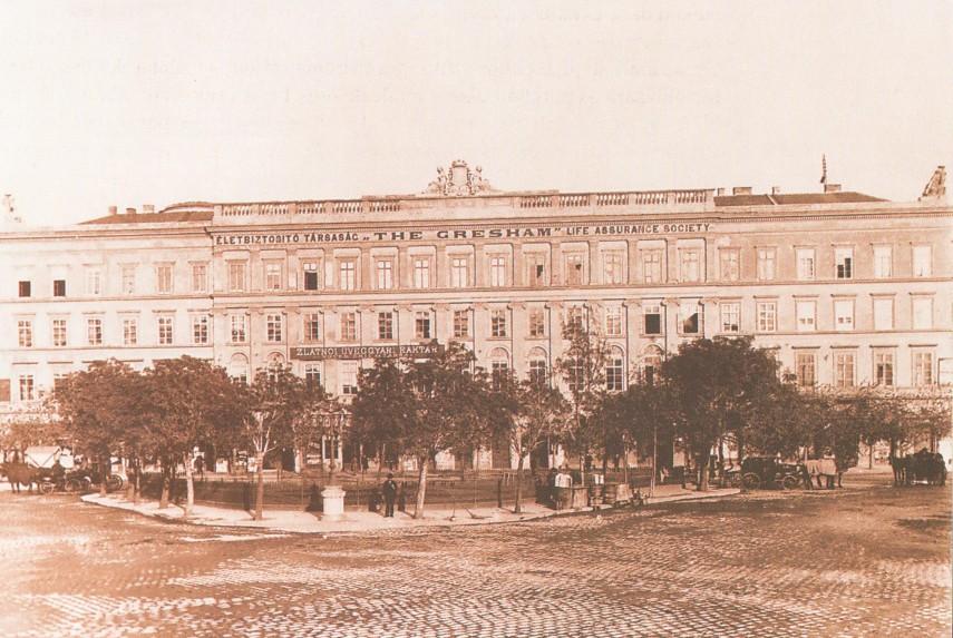 1900 táján, Ferenc József (Széchenyi István) tér, (1950-től 5. kerület)