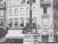1920 táján Gizella (Vörösmarty) tér, 5. kerület