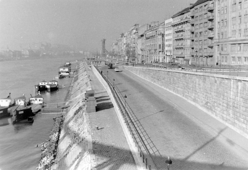 1962, Pesti alsó (Jane Haining) rakpart, 5. kerület