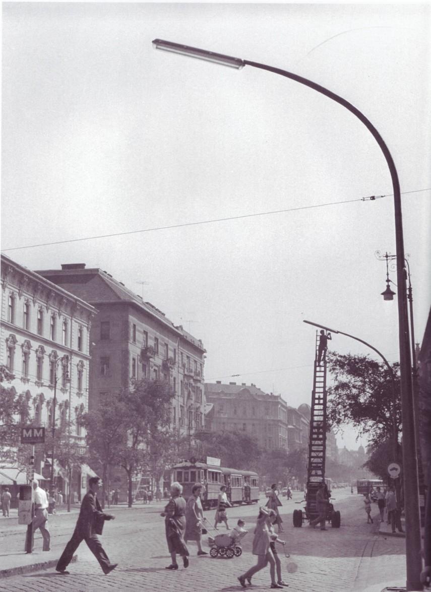 1950-es évek, Szent István körút, 5. és 13. kerület