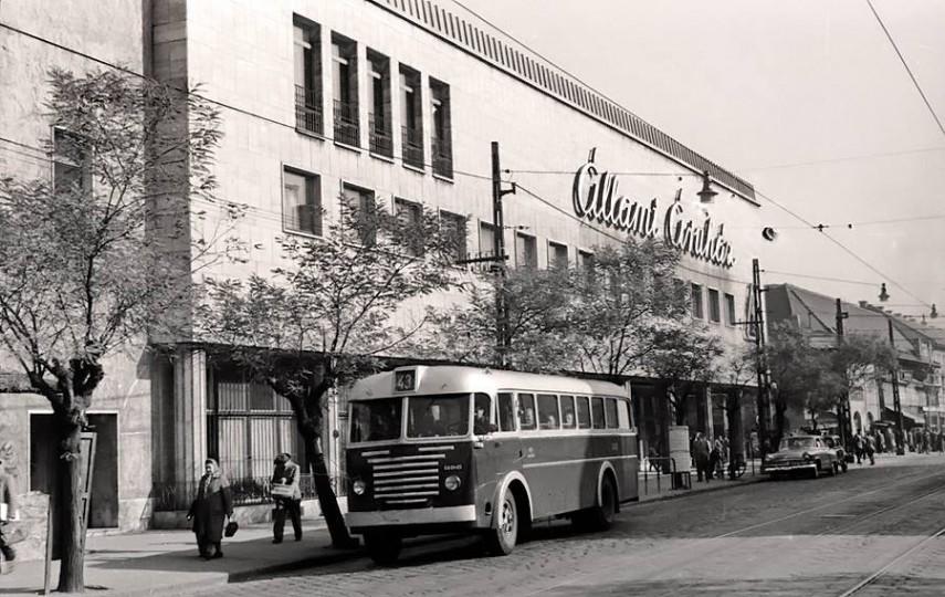 1960 táján, Árpád  út, 4. kerület