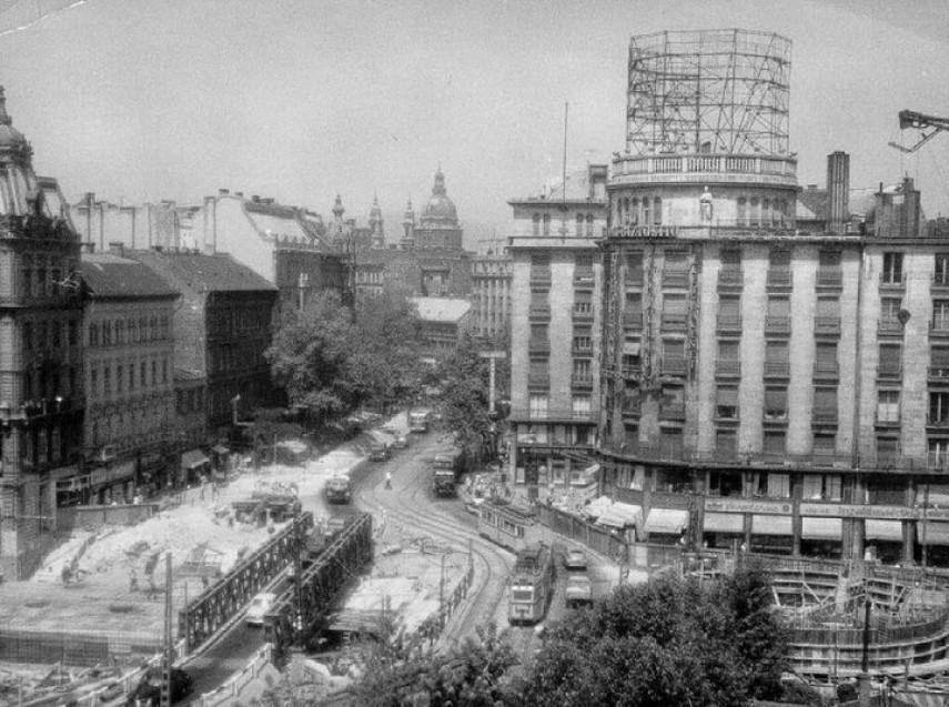 1963, Tanács (Károly) körút, 5.és 7. kerület